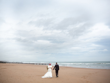 Ailsa and Ryan's wedding at St. Machar's Cathedral and the Beach Ballroom
