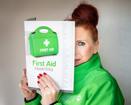 First Aid Training doesn't have to be boring! - Personal Brand Photography