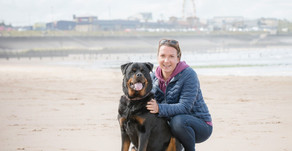 Tig and Victoria's beach photo session