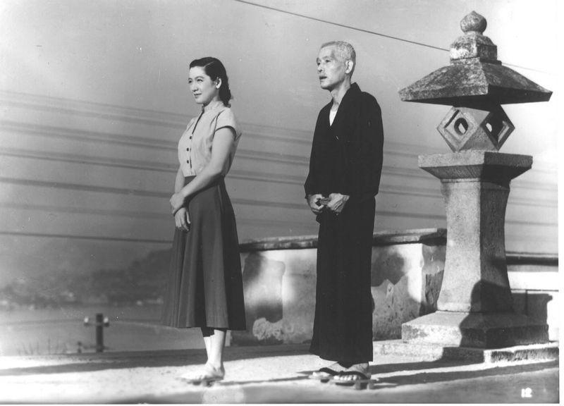 Chishū Ryū and Setsuko Hara in Tokyo Story