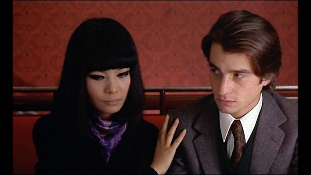 Hiroko Matsumoto and Jean-Pierre Léaud in Bed and Board