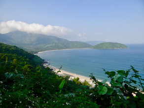 View of Vinh Nam Chon Beach