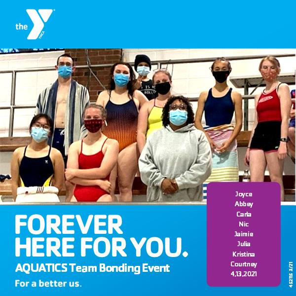New Aquatic Director leads Aquatic Staff Team Bonding Event