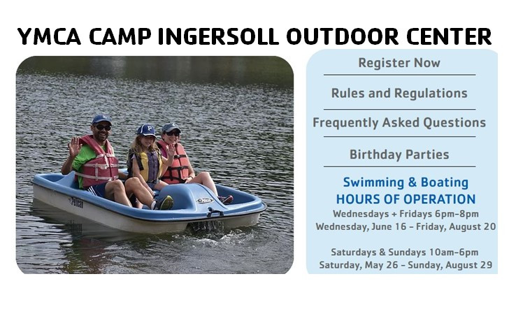 YMCA Camp Ingersoll Outdoor Center: Join today!