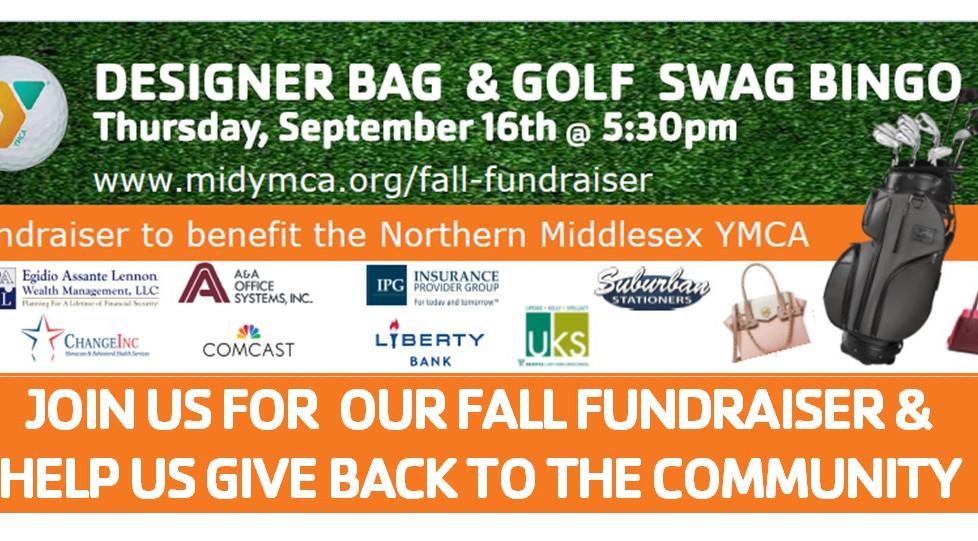 Join us for our Fall Fundraiser: Designer Bag & Golf Swag BINGO