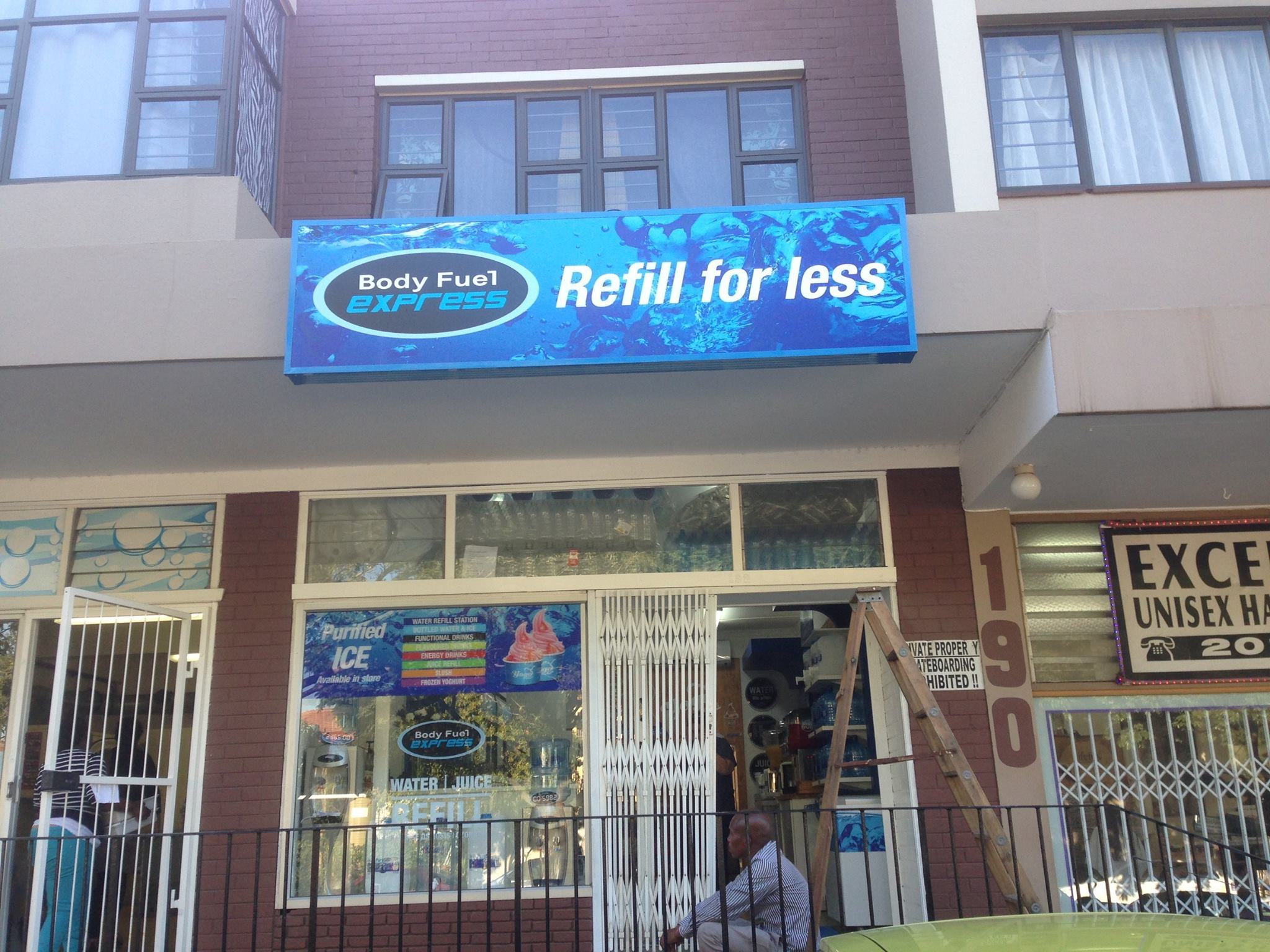 BODY FUEL M2 SIGNS | Signage Durban