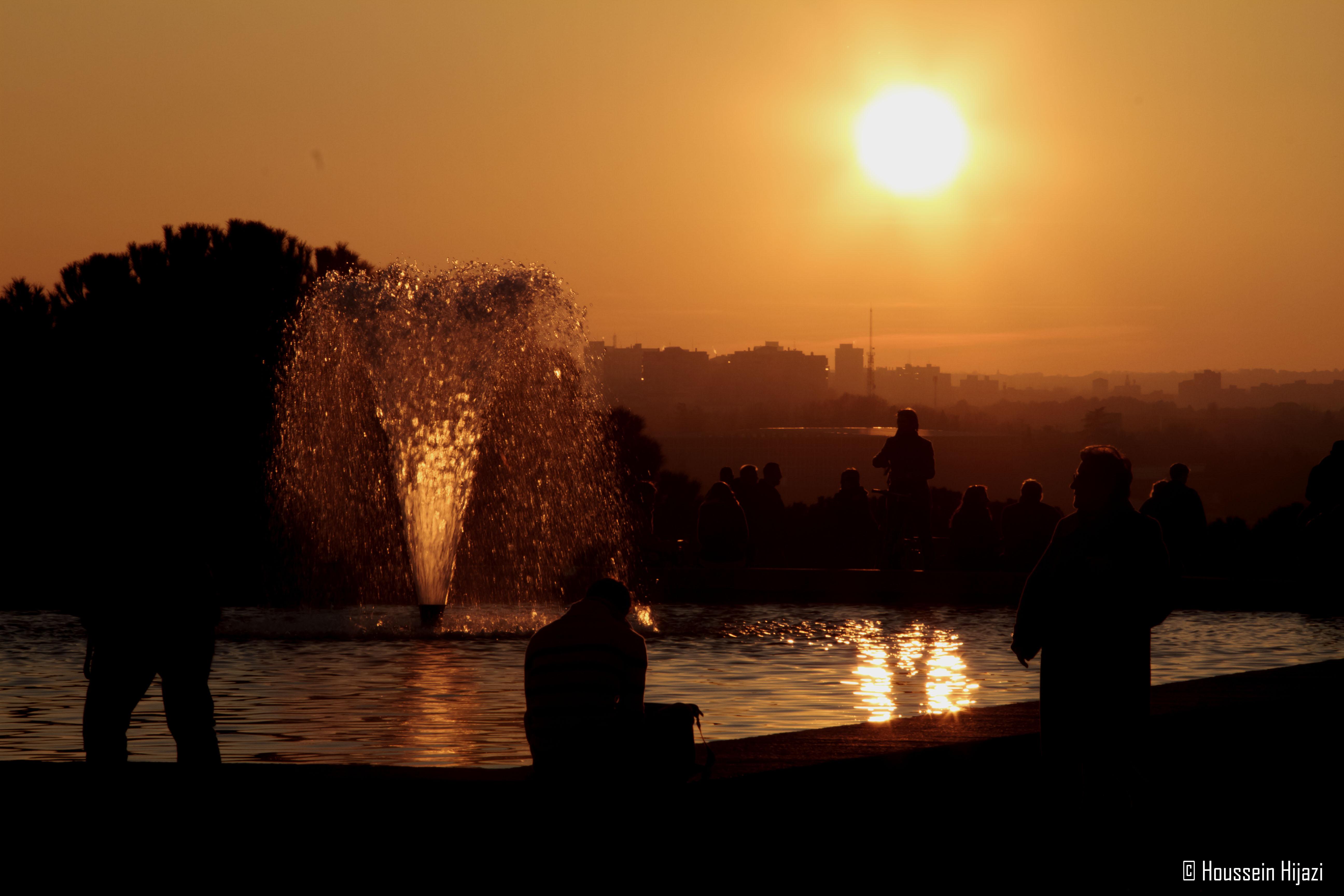 Sunset Madrid