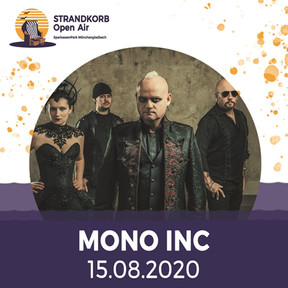 "Mono Inc. - ""The Raven Flies Again""-Tour - SparkassenPark, Mönchengladbach - 15.08.2020"
