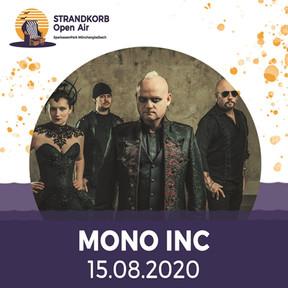"Mono Inc. - ""The Raven Flies Again""-Tour - SparkassenPark, Mönchengladbach - 15.08.2020"