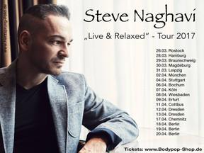 "Steve Naghavi - ""Live & Relaxed""-Tour - Matrix, Bochum - 06.04.2017"