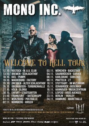 "Mono Inc. - ""Welcome To Hell""-Tour - Turbinenhalle 2, Oberhausen - 26.10.2018"