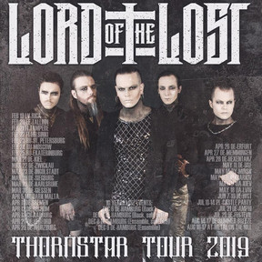 "Lord Of The Lost - ""Thornstar""-Tour - Matrix, Bochum - 12.04.2019"