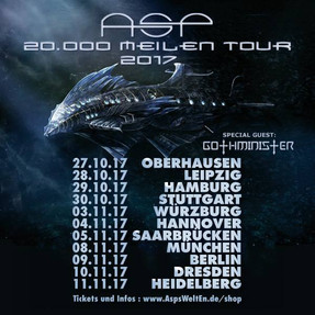 "ASP - ""20.000 Meilen""-Tour - Turbinenhalle 2, Oberhausen - 27.10.2017"