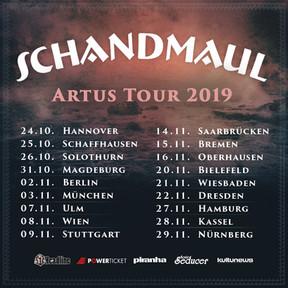 "Schandmaul - ""Artus""-Tour - Turbinenhalle, Oberhausen - 16.11.2019"
