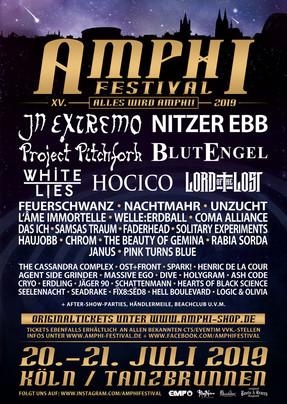 Amphi Festival - Tag I - Tanzbrunnen, Köln - 20.07.2019