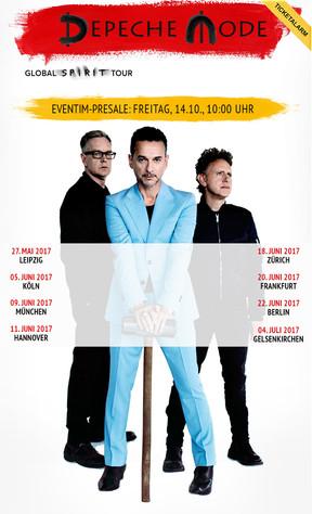 """Depeche Mode - """"Global Spirit""""-Tour - Veltins Arena, Gelsenkirchen - 04.07.2017"""