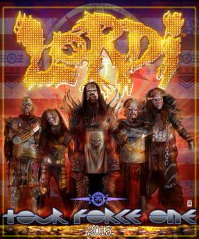 """Lordi - """"How To Slice A Tour""""-Tour - Matrix, Bochum - 19.02.2015"""