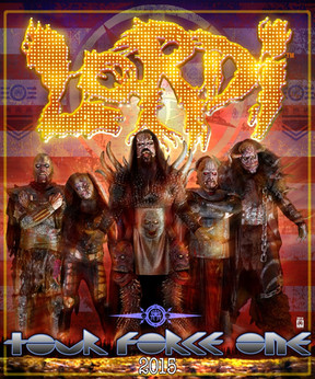 "Lordi - ""How To Slice A Tour""-Tour - Matrix, Bochum - 19.02.2015"