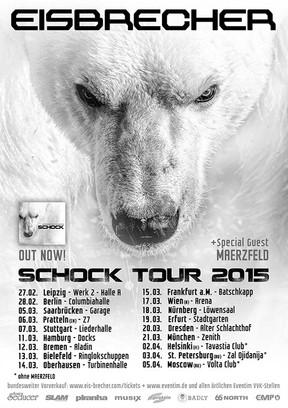 """Eisbrecher - """"Schock""""-Tour - Turbinenhalle, Oberhausen - 14.03.2015"""