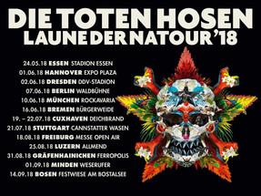 """Die Toten Hosen - """"Laune Der Natour""""-Tour - RWE Stadion, Essen - 24.05.2018"""