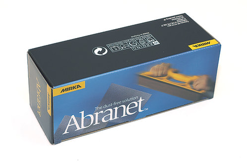 70 x 125mm Abranet Grip Backed Sheets 80 grit