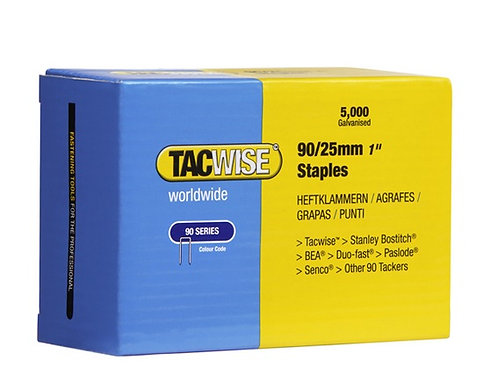 90/20mm Staples. 90 Series Tacwise. (5000)