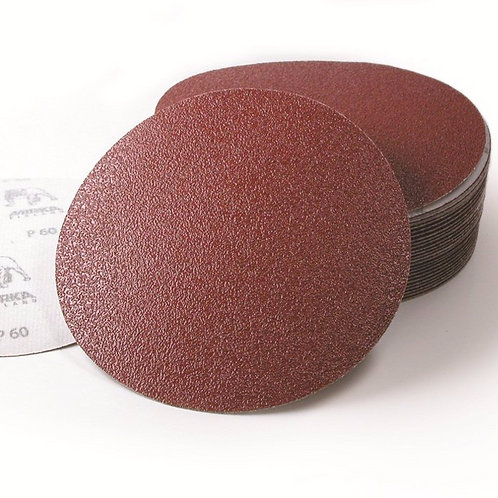 Mirka 80 Grit Coarse Cut Grip discs 150mm no hole