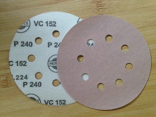 Hermes 8 hole VC 152 Velour 125mm Discs