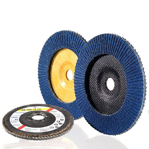 115 x 22 Grade 60 Flap discs FL390 ECO Hermes
