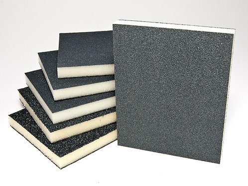 123 x 98 x 12.5 Double sided sponge pads