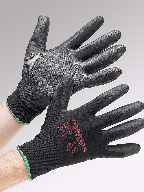 Warrior Black Nitrile Coated (Cat 2)
