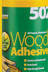 502 All Purpose Weatherproof Wood Adhesive 1litre