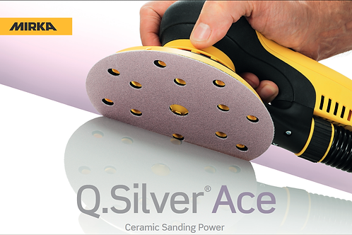 Q. Silver Ace 125mm discs 17h (100)