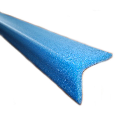 50 x 50 L shape Blue foam eding 480m