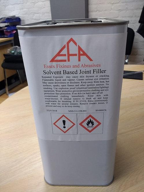 Solvent based wood filler