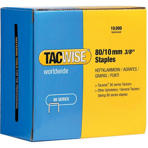 Staples (type 80) 80/10mm Tacwise 10,000