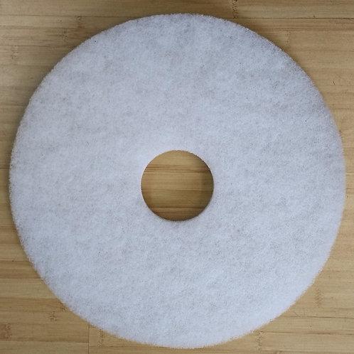 "430mm White Floor Pad (5 pieces) 17"""