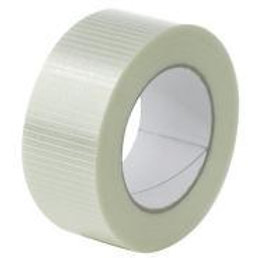 25mm x 50mtr Cross Weave tape