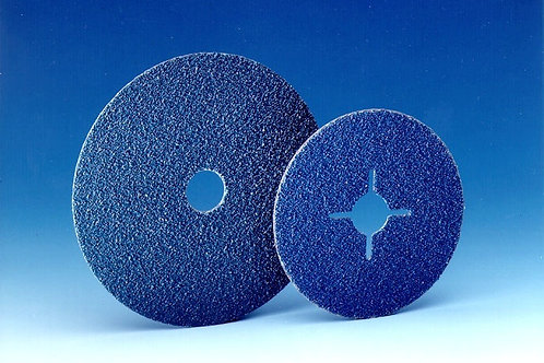 115mm x 22mm 414  Zirconia Fibre Discs 80 Grit