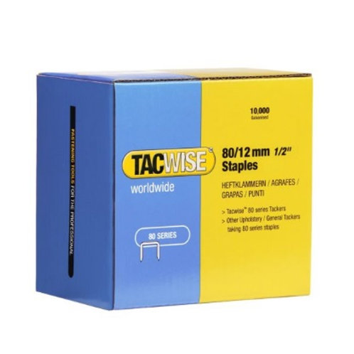 Staples (type 80) 80/12mm Tacwise 10,000