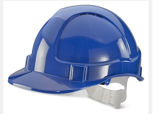 Blue economy vented hard hat