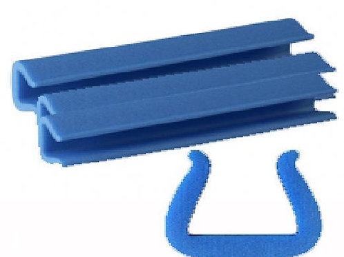 25 x 35 U shape Blue Foam Edging