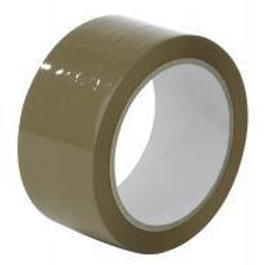 50mm Poly prop Brown packaging tape