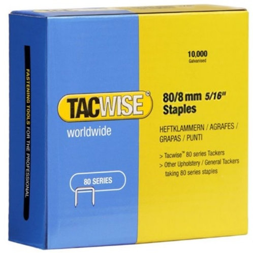 Staples (type 80) 80/8mm Tacwise 10,000