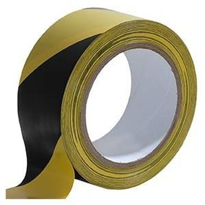 Everbuild	50mm x 33mtr PVC Hazard tape