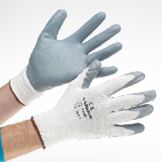 Warrior Grey Nitrile Coated Glove (Cat 1)