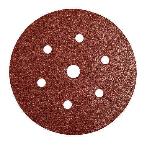 Mirka Deflex 7 hole 150mm Grip discs 80 Grit