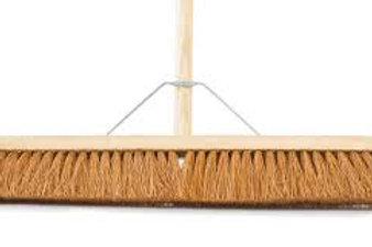24inch Broom soft/hard Bristled