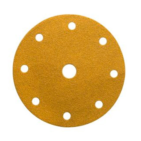 Mirka Gold 150mm 9 hole Grip  discs 150-500 grits
