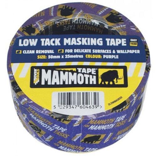 Everbuild50mm x 25mtr Low tack masking tape